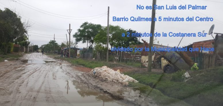Barrio de Ocupas K , anexado al barrio quilmes